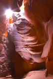 Slot canyons of southwest Royalty Free Stock Images