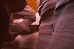 Slot canyons of southwest Stock Image