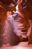 Slot canyons of southwest Royalty Free Stock Photo