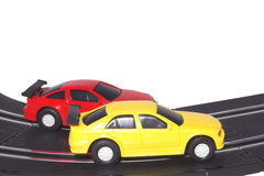 Slot Cars Stock Image