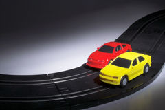 Free Slot Cars Royalty Free Stock Photography - 3043777