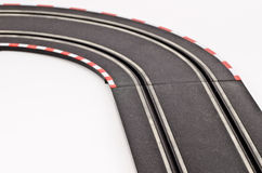 Slot cars track Stock Images