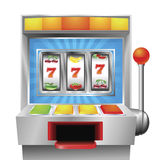 Slot fruit machine Royalty Free Stock Photo