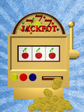 A slot fruit machine Stock Image