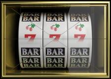 Slot fruit machine Stock Images