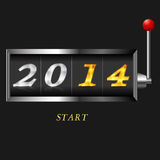 slot 2014 Stock Images