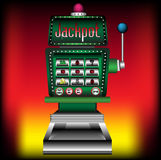 Slot machine royalty free illustration