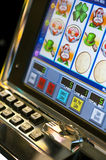 Slot Machine Stock Image
