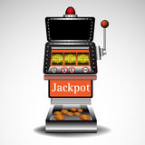 Slot machine stock illustration