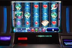 Slot machine Imagem de Stock Royalty Free