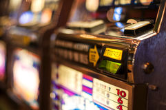 Slot machine Fotos de Stock Royalty Free