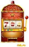 Slot machine illustrazione vettoriale