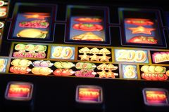 Slot machine Stock Photos