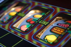 Slot machine Royalty Free Stock Photo