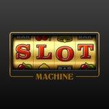 Slot machine ilustração do vetor