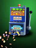 Slot machine Immagini Stock