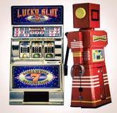 Slot machine Imagem de Stock