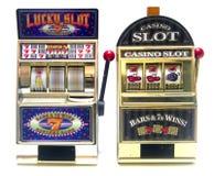 Slot machine Immagini Stock Libere da Diritti