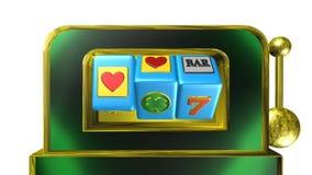 Slot machine, animazione royalty illustrazione gratis