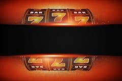 Slot Machine Copy Space Royalty Free Stock Photos