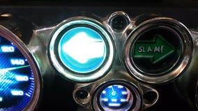 Slot machine da seta vídeos de arquivo