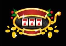 Slot machine dell'annata Fotografia Stock