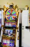Slot machine della ruota della fortuna Fotografia Stock Libera da Diritti