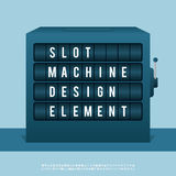 Slot Machine Design Element Royalty Free Stock Photography