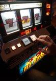 Slot machine di Las Vegas Immagini Stock Libere da Diritti