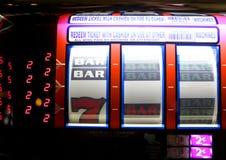Slot machine di Vegas Immagini Stock