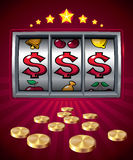 Slot machine Stock Photography
