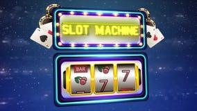Slot Machine. Slot Machine - Fruits Winner. stock video footage