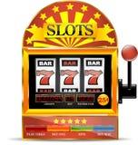 Slot machine icon Stock Photo