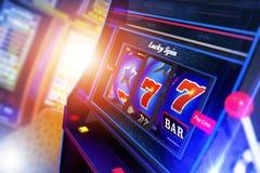 Slot Machine Illustration Royalty Free Stock Images