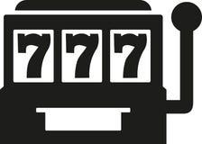 Slot machine - jackpot seven. Vector Stock Photos