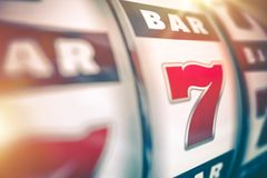 Slot Machine Lucky Game Stock Image