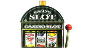 Slot machine stock footage