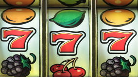 Slot machine stock video