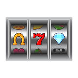 Slot machine vector illustration Stock Image
