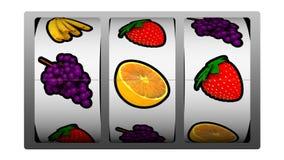 Slot machine - vincitore di simbolo del dollaro royalty illustrazione gratis