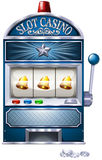 Slot machine. Vintage design of slot machine royalty free illustration