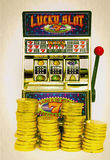 Slot machine Royalty Free Stock Photos