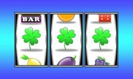 Slot machine winnings (08) stock image
