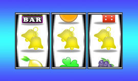 Slot machine winnings (09) royalty free stock photography
