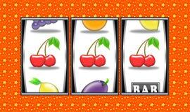 Slot machine winnings royalty free stock photo