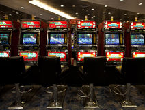 Slot Machines Royalty Free Stock Photos