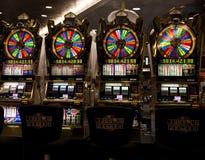 Slot Machines Stock Photo
