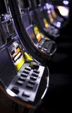 Slot machines. With shallow dof Stock Image