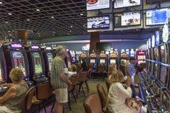 Slot Machines at the casino Stock Image