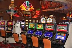 Slot machines royalty free stock photography